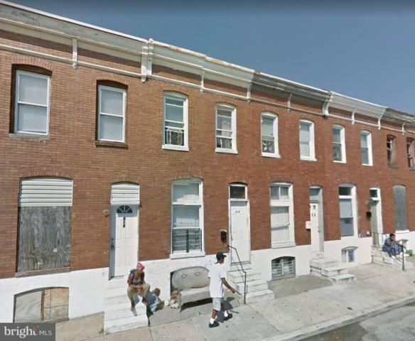 816 N Rose Street, BALTIMORE, MD 21205 (#MDBA305844) :: ExecuHome Realty