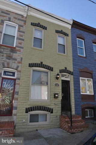 2507 Jefferson Street, BALTIMORE, MD 21205 (#MDBA306192) :: ExecuHome Realty