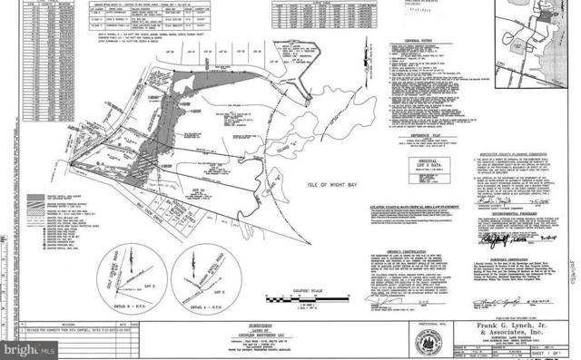 Lot 2B Golf Course Road, OCEAN CITY, MD 21842 (#MDWO102538) :: ExecuHome Realty