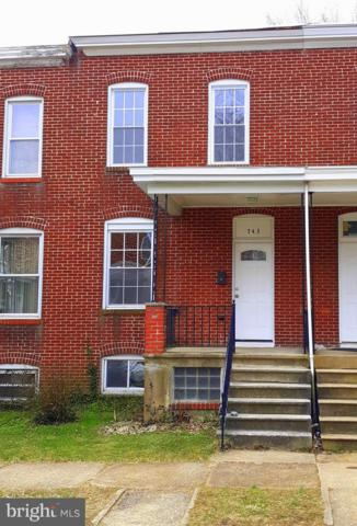 743 E 37TH Street, BALTIMORE, MD 21218 (#MDBA356486) :: ExecuHome Realty