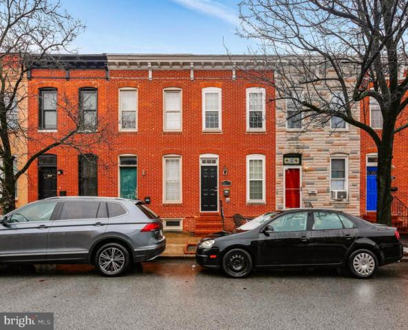 1433 Decatur Street, BALTIMORE, MD 21230 (#MDBA357562) :: Blue Key Real Estate Sales Team
