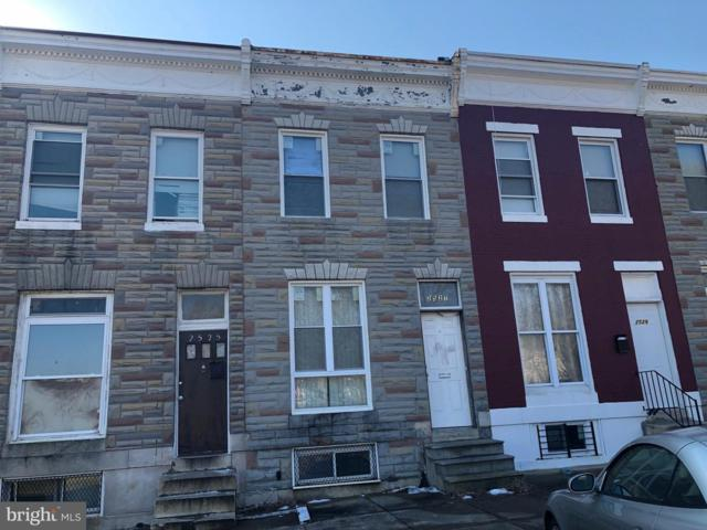 2527 W Lombard Street, BALTIMORE, MD 21223 (#MDBA384218) :: ExecuHome Realty