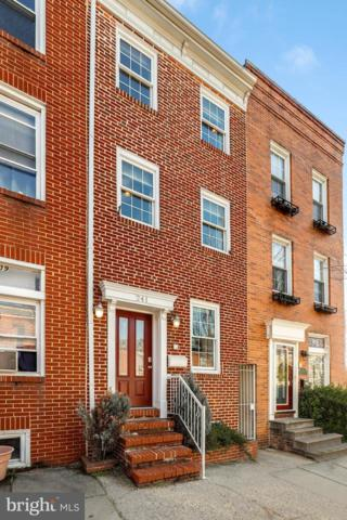 241 S Wolfe Street, BALTIMORE, MD 21231 (#MDBA399692) :: ExecuHome Realty