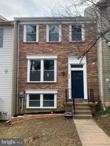 303 Twisted Stalk Drive, GAITHERSBURG, MD 20878 (#MDMC618632) :: The Sebeck Team of RE/MAX Preferred
