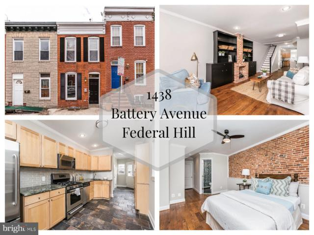 1438 Battery Avenue, BALTIMORE, MD 21230 (#MDBA435546) :: ExecuHome Realty