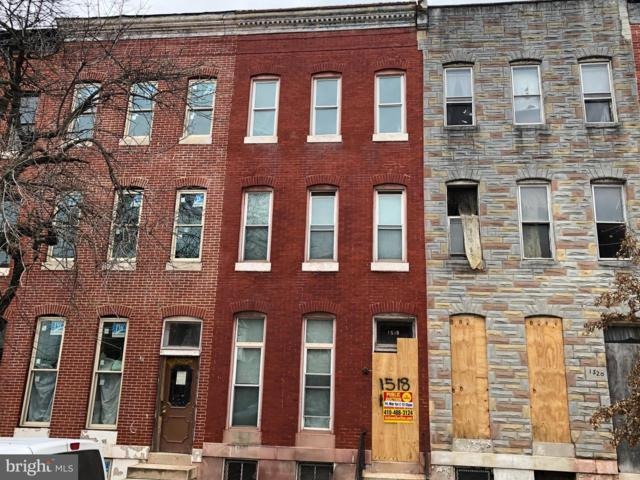 1518 N Broadway, BALTIMORE, MD 21213 (#MDBA435634) :: ExecuHome Realty