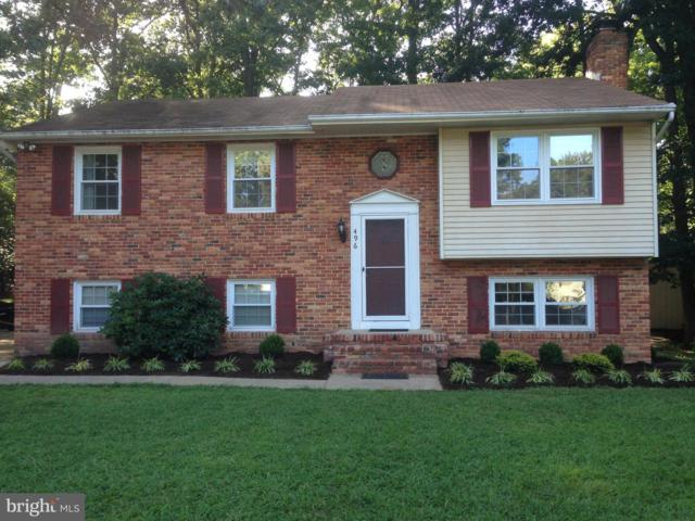 496 Eastwood Court, SEVERNA PARK, MD 21146 (#MDAA373732) :: Remax Preferred | Scott Kompa Group