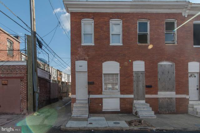 627 N Curley Street, BALTIMORE, MD 21205 (#MDBA435796) :: ExecuHome Realty