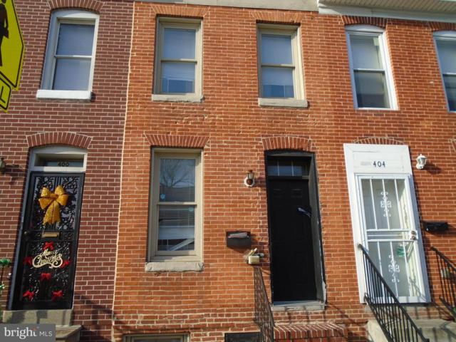 402 Chester Street N, BALTIMORE, MD 21231 (#MDBA436130) :: The Kenita Tang Team