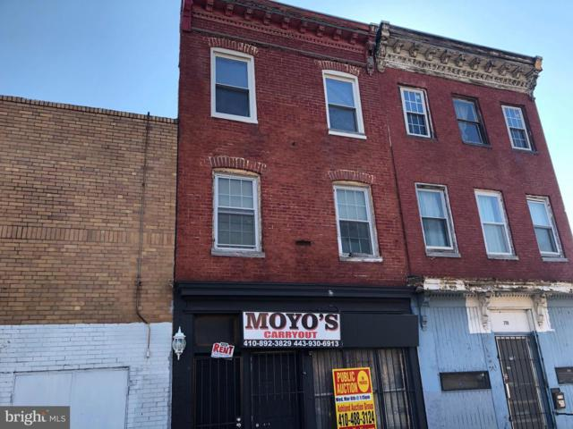 2117 Frederick Avenue, BALTIMORE, MD 21223 (#MDBA436156) :: Great Falls Great Homes