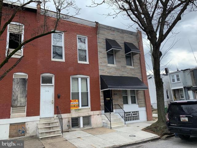 705 N Payson Street, BALTIMORE, MD 21217 (#MDBA436188) :: ExecuHome Realty