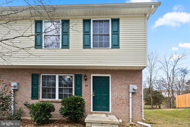 416 Ridgefield Avenue, STEPHENS CITY, VA 22655 (#VAFV144850) :: The Maryland Group of Long & Foster Real Estate