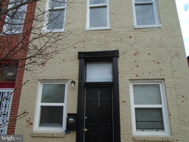213 N Collington Avenue, BALTIMORE, MD 21231 (#MDBA436806) :: Great Falls Great Homes