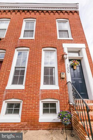 100 Burnett Street, BALTIMORE, MD 21230 (#MDBA437172) :: Browning Homes Group