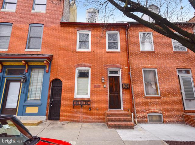 617 S Wolfe Street, BALTIMORE, MD 21231 (#MDBA438216) :: Browning Homes Group