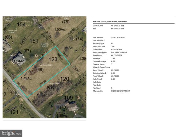 Clarendon - Ashton Street Lot 68, CARLISLE, PA 17015 (#PACB109708) :: The Heather Neidlinger Team With Berkshire Hathaway HomeServices Homesale Realty