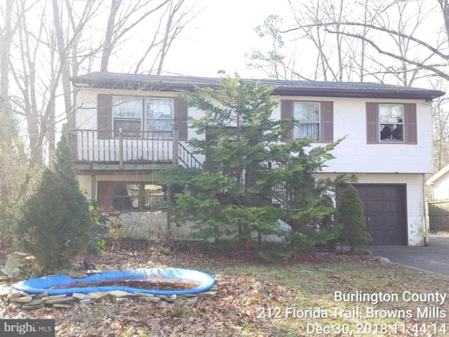 212 Florida Trail, BROWNS MILLS, NJ 08015 (#NJBL324268) :: Colgan Real Estate