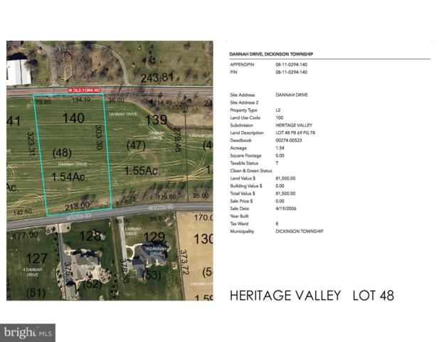Heritage Valley - Dannah Drive Lot 48, CARLISLE, PA 17015 (#PACB109782) :: The Heather Neidlinger Team With Berkshire Hathaway HomeServices Homesale Realty