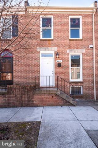 805 1/2 W Barre Street, BALTIMORE, MD 21230 (#MDBA438732) :: The Putnam Group
