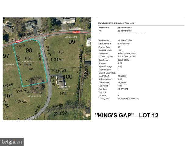 Kings Gap - Morgan Drive Lot 12, CARLISLE, PA 17015 (#PACB109840) :: Liz Hamberger Real Estate Team of KW Keystone Realty