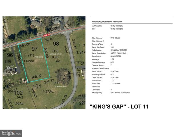 Kings Gap - Pine Road Lot 11, CARLISLE, PA 17015 (#PACB109842) :: Liz Hamberger Real Estate Team of KW Keystone Realty