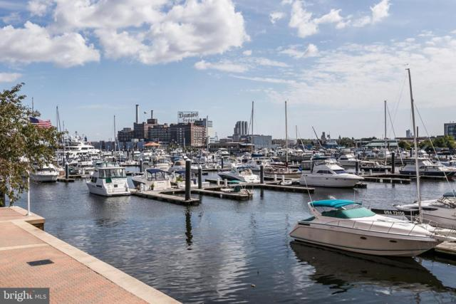100 Harborview Drive #604, BALTIMORE, MD 21230 (#MDBA438934) :: ExecuHome Realty