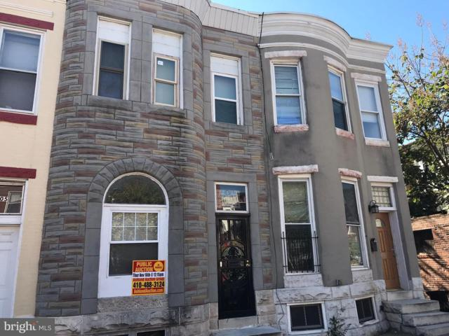 1703 E Lafayette Avenue, BALTIMORE, MD 21213 (#MDBA439236) :: AJ Team Realty