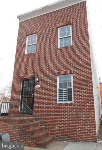 233 N Chester Street, BALTIMORE, MD 21231 (#MDBA439302) :: Browning Homes Group