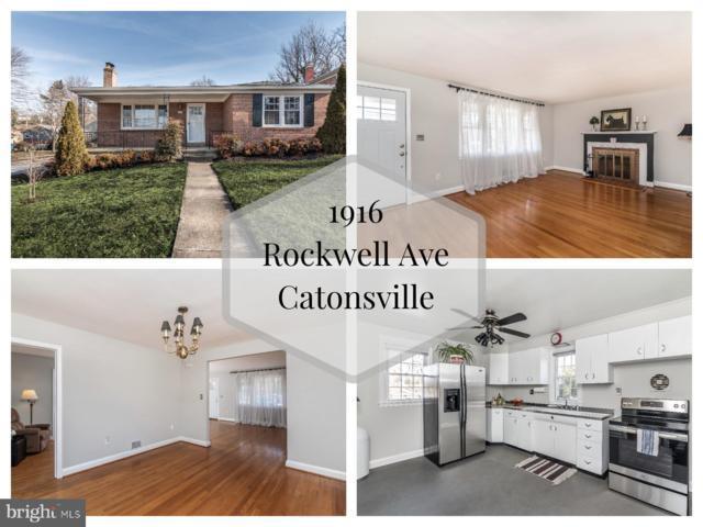 1916 Rockwell Avenue, BALTIMORE, MD 21228 (#MDBC434792) :: Remax Preferred   Scott Kompa Group