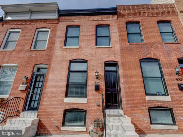 934 S Clinton Street, BALTIMORE, MD 21224 (#MDBA439676) :: Great Falls Great Homes