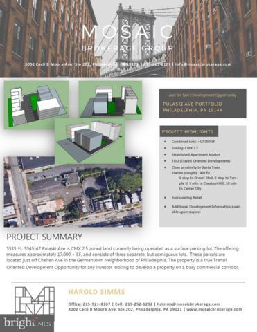 5535 Pulaski Avenue, PHILADELPHIA, PA 19144 (#PAPH725950) :: Remax Preferred | Scott Kompa Group