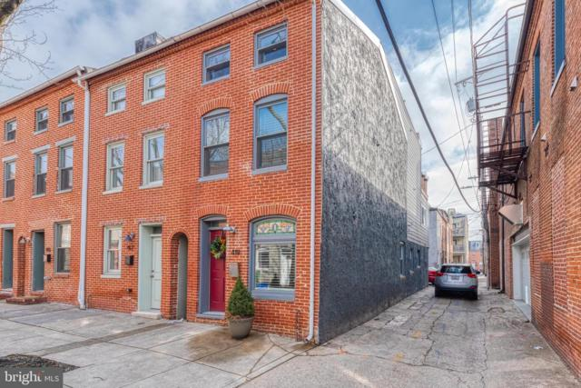 419 S Regester Street, BALTIMORE, MD 21231 (#MDBA439850) :: Browning Homes Group