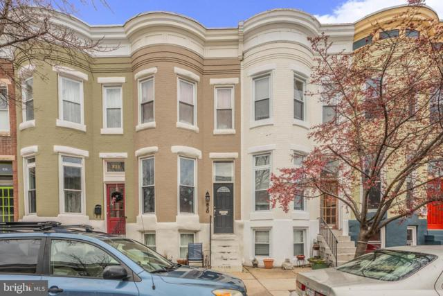 820 Wellington Street, BALTIMORE, MD 21211 (#MDBA440074) :: Browning Homes Group