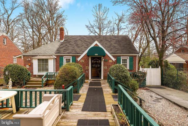 430 Lincoln Avenue, TAKOMA PARK, MD 20912 (#MDMC624300) :: ExecuHome Realty