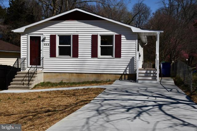 403 E F Street, BRUNSWICK, MD 21716 (#MDFR234590) :: ExecuHome Realty