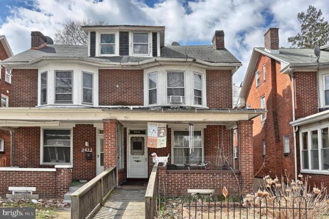2424 N 5TH Street, HARRISBURG, PA 17110 (#PADA108050) :: Benchmark Real Estate Team of KW Keystone Realty