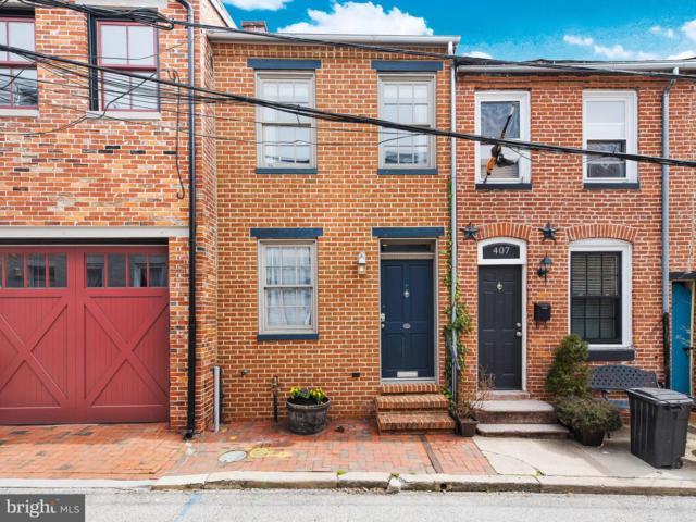 405 S Chapel Street, BALTIMORE, MD 21231 (#MDBA441242) :: Browning Homes Group