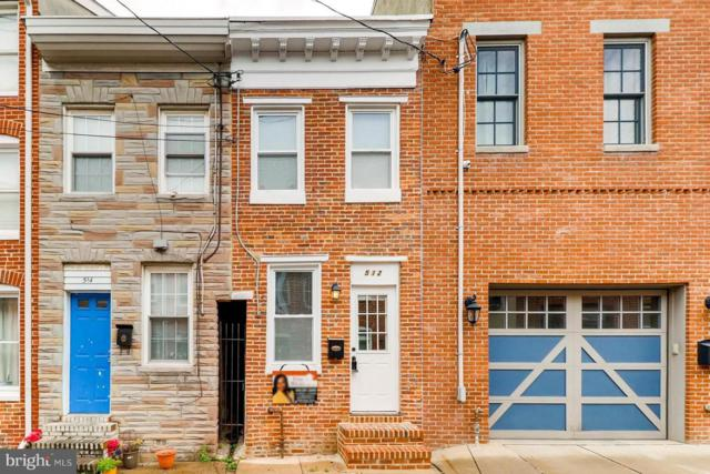 512 Chapel Street, BALTIMORE, MD 21231 (#MDBA441260) :: The Putnam Group