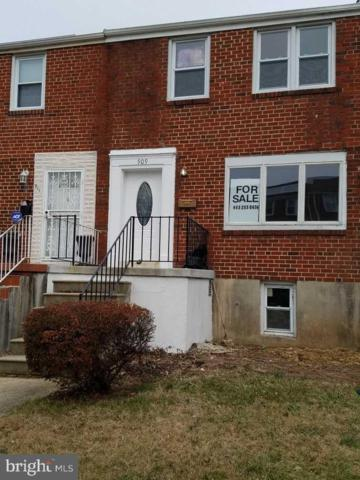 909 Stamford Road, BALTIMORE, MD 21229 (#MDBA441322) :: The Putnam Group