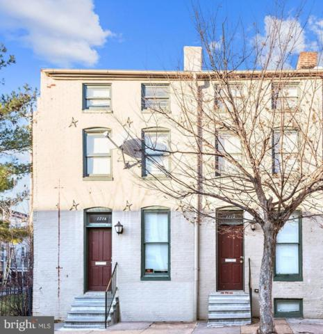1214 W Lombard Street, BALTIMORE, MD 21223 (#MDBA441492) :: AJ Team Realty