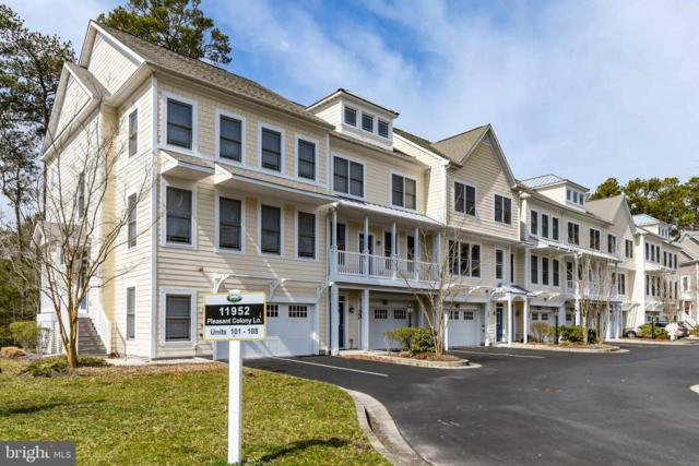 11952 Pleasant Colony Lane #103, BERLIN, MD 21811 (#MDWO104604) :: The Windrow Group