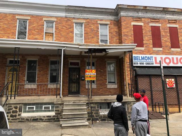 2910 Belmont Avenue, BALTIMORE, MD 21216 (#MDBA441710) :: The Gus Anthony Team