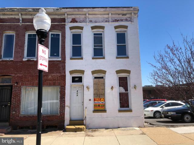 615 N Collington Avenue, BALTIMORE, MD 21205 (#MDBA461956) :: The Kenita Tang Team