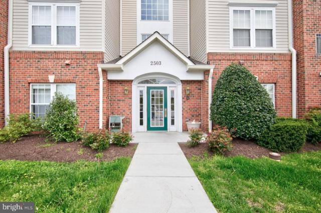 2503 Amber Orchard Court W #102, ODENTON, MD 21113 (#MDAA394350) :: Bob Lucido Team of Keller Williams Integrity
