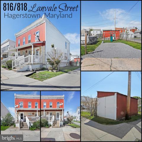 816-818 Lanvale Street, HAGERSTOWN, MD 21740 (#MDWA163816) :: The Maryland Group of Long & Foster