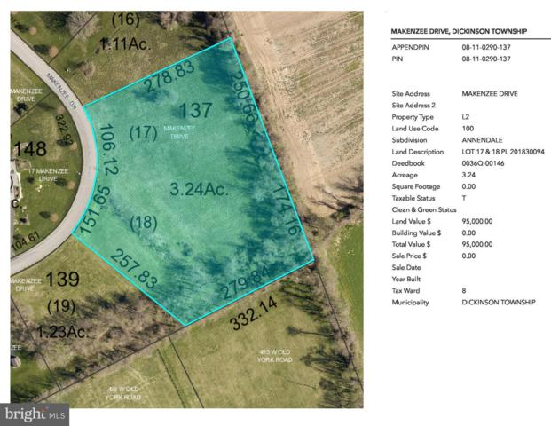 Annendale - Makenzee Drive Lot 17, CARLISLE, PA 17015 (#PACB111596) :: The Heather Neidlinger Team With Berkshire Hathaway HomeServices Homesale Realty