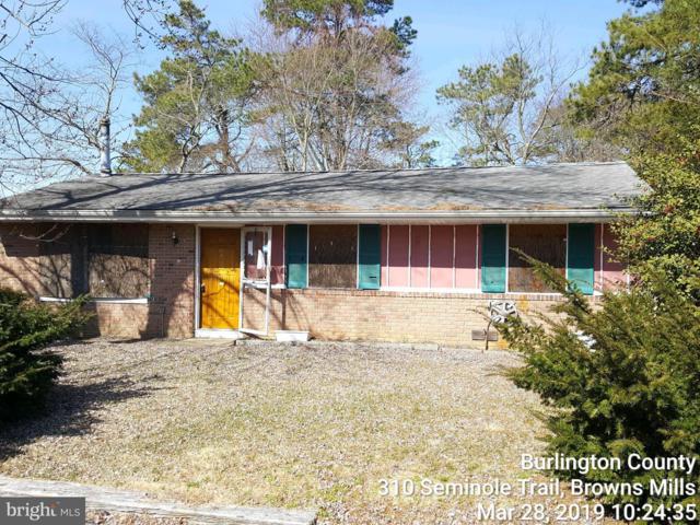 310 Seminole Trail, BROWNS MILLS, NJ 08015 (#NJBL341390) :: Remax Preferred | Scott Kompa Group