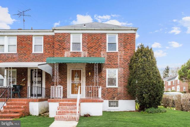 2725 Pelham Avenue, BALTIMORE, MD 21213 (#MDBA463314) :: The Gus Anthony Team