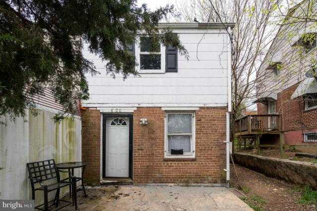 820 51ST Street NE, WASHINGTON, DC 20019 (#DCDC422380) :: Remax Preferred   Scott Kompa Group