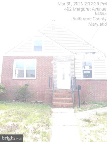 404 Margaret Avenue, BALTIMORE, MD 21221 (#MDBC453852) :: Advance Realty Bel Air, Inc